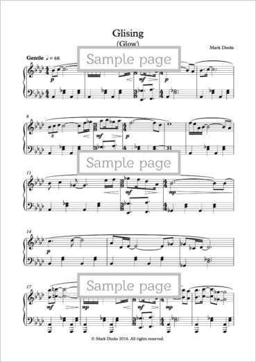 glising-sample-page
