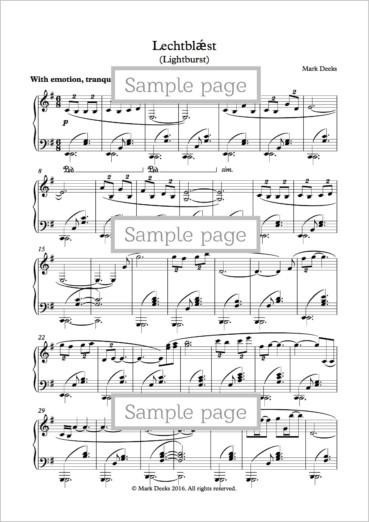 Sheet Music PDFs